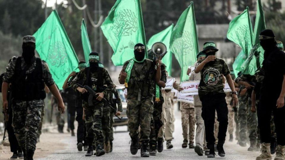 عناصر حماس بالاسلحة الفردية