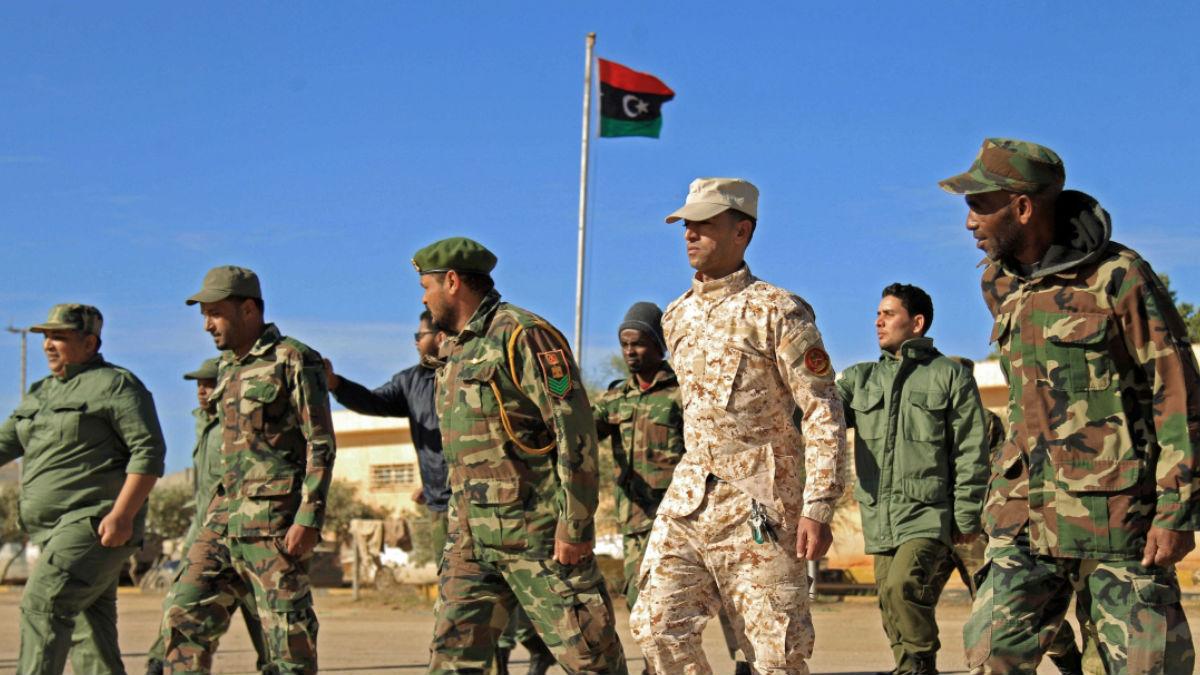 الميليشيات الليبية