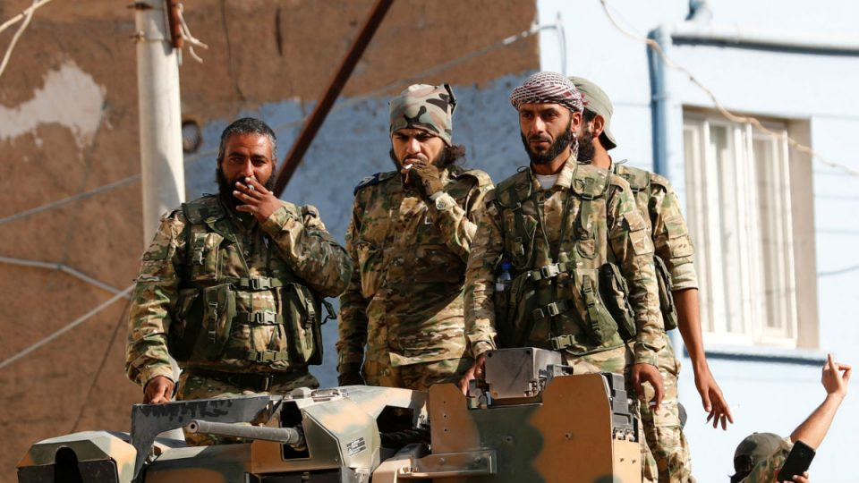 Syrian militant in libya