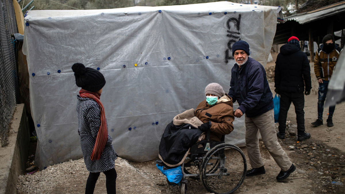 coronavirus refugee camps