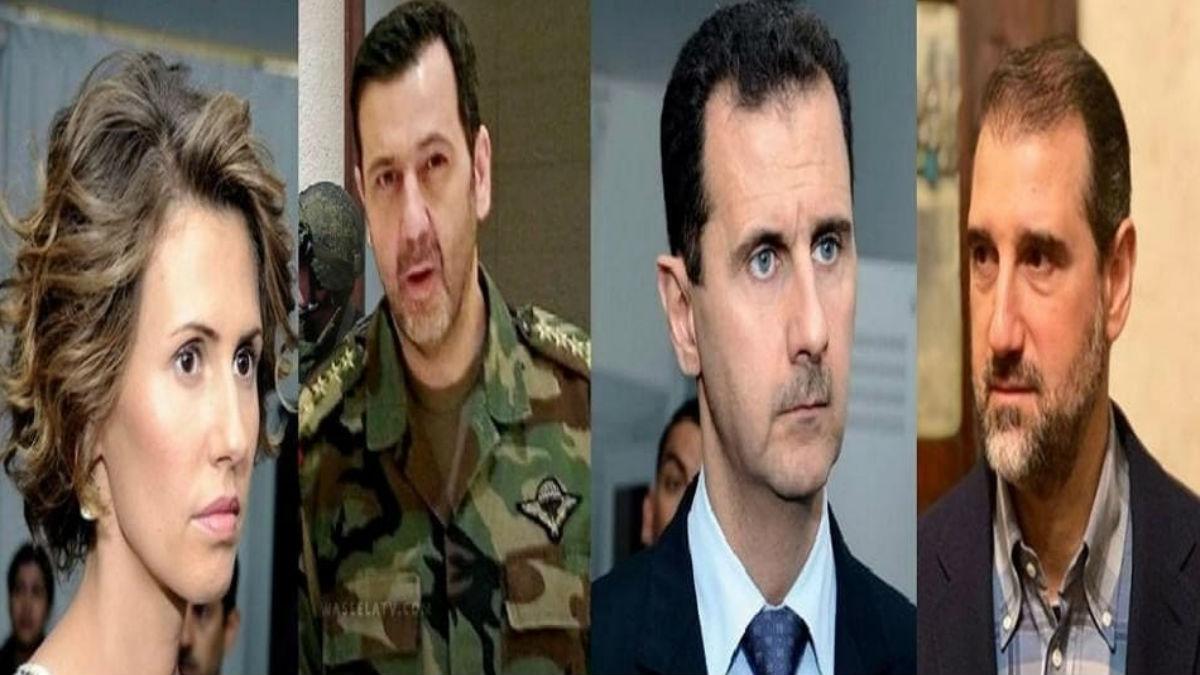 خلافات آل الأسد