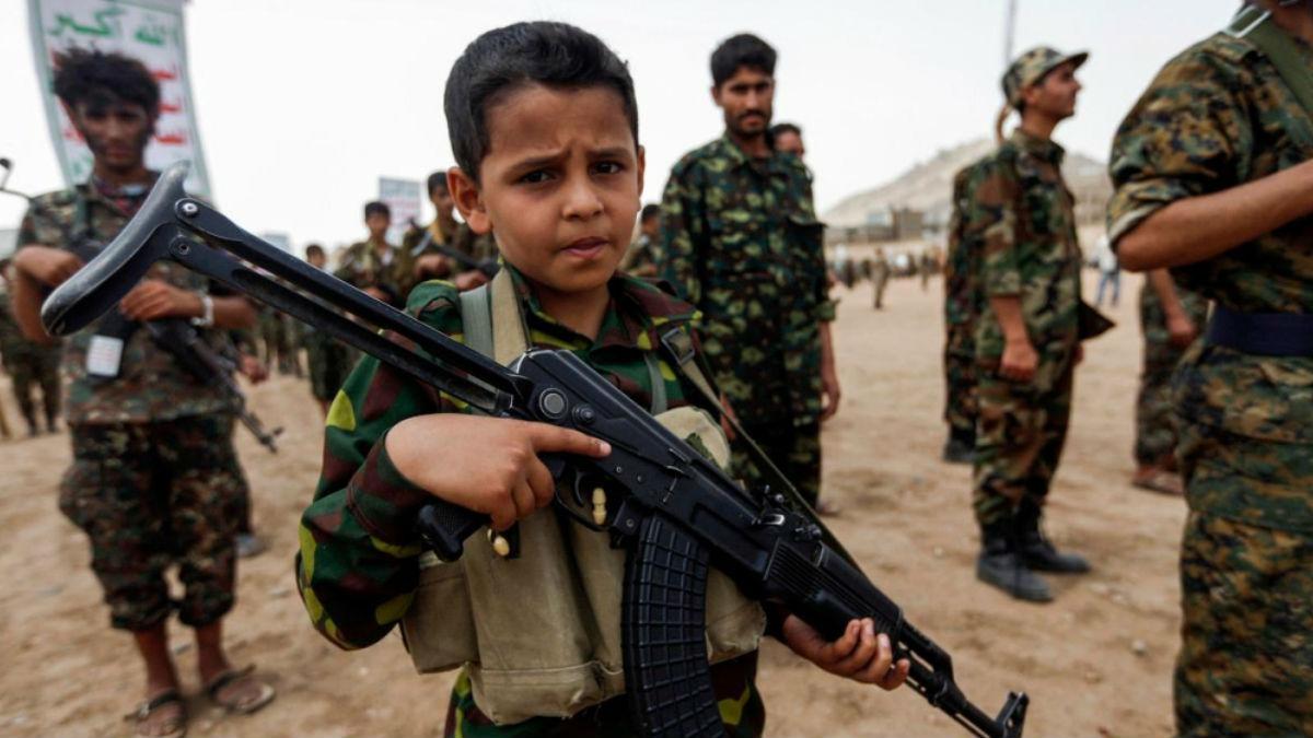 أطفال الحوثي
