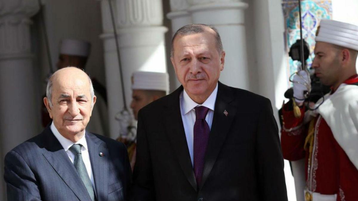 أردوغان والرئيس تبون