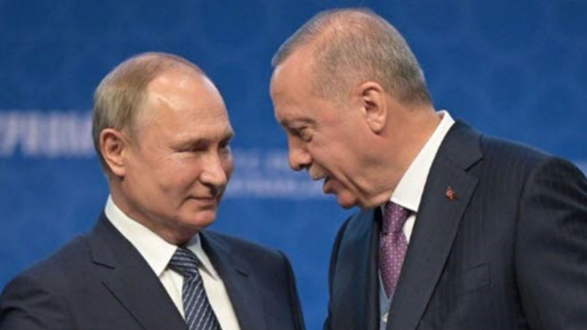 بوتين و اردوغان