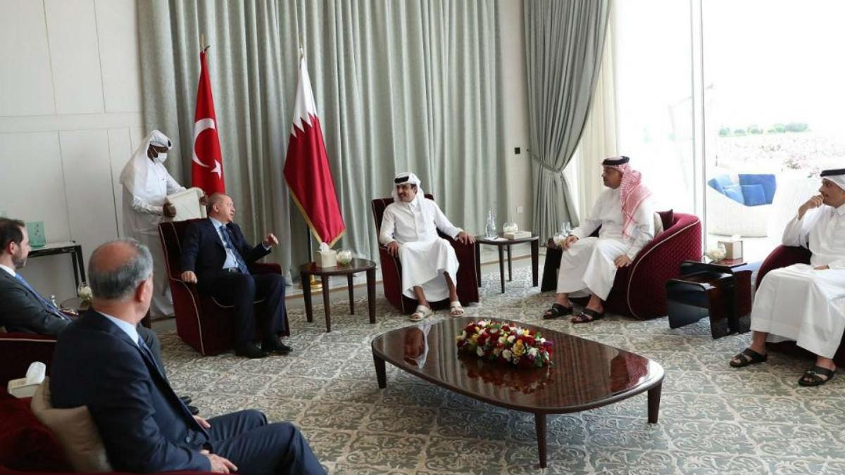 أردوغان في قطر